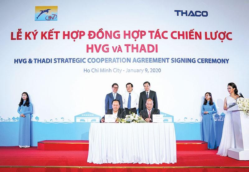 Với tỷ phú Trần Bá Dương, sự hợp tác giữa HVG và Thadi là cơ duyên để ông tham gia một lĩnh vực mới.