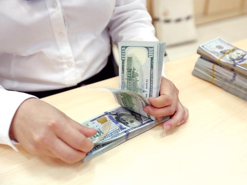 Dù giá USD tăng, nhưng nhu cầu ngoại tệ và thanh khoản ngoại tệ ở trong nước vẫn bình thường. Ảnh: Đức Thanh