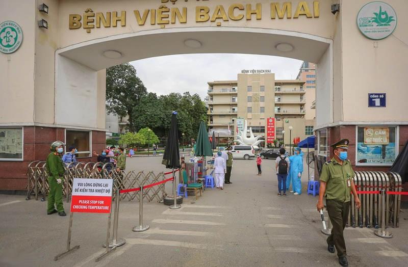 Một trường hợp ủ bệnh 23 ngày sau khi đi khám tại Bệnh viện Bạch Mai