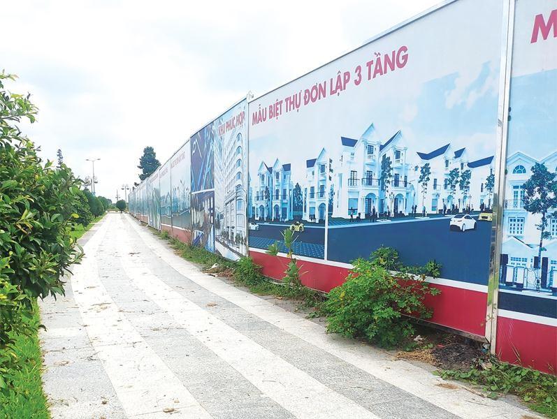 khu dất 43 ha giờ là dự án Khu đô thị Tân Phú