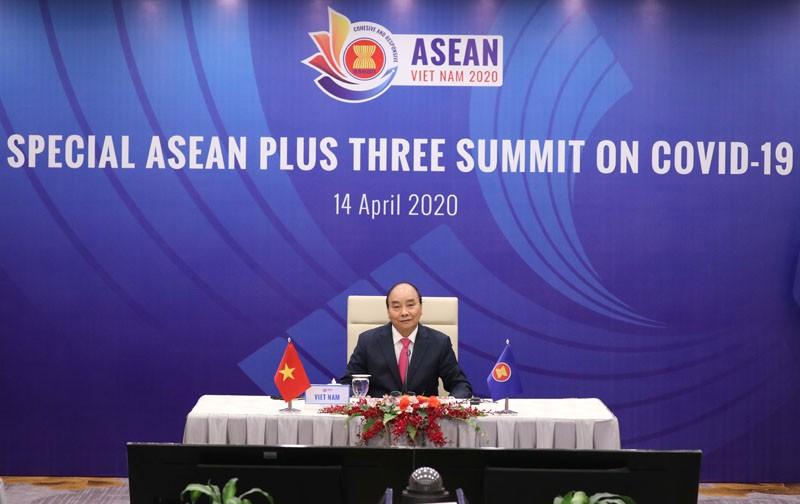 Thủ tướng Nguyễn Xuân Phúc chủ trì Hội nghị Cấp cao Đặc biệt ASEAN+3