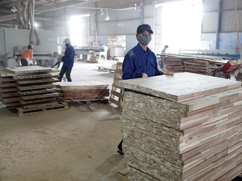 Nhiều doanh nghiệp gỗ đang kỳ vọng đẩy mạnh xuất khẩu sang thị trường EU. Ảnh: Đức Thanh