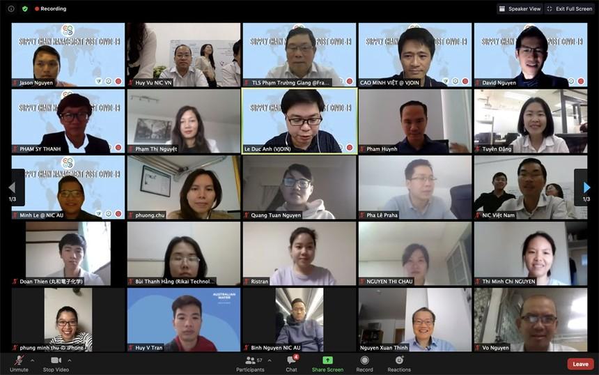 Hội thảo trực tuyến Quản lý chuỗi cung ứng hậu Covid-19