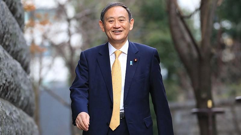 Ông Yoshihide Suga là Thủ tướng thứ 99 của Nhật Bản