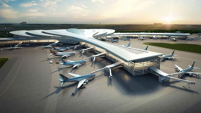 Phối cảnh nhà ga sân bay Long Thành ẢNH ACV
