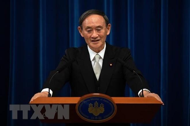 Thủ tướng Nhật Bản Suga Yoshihide.