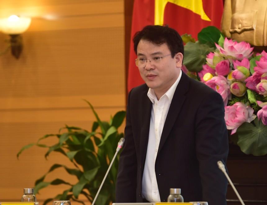Thứ trưởng Bộ Kế hoạch và Đầu tư Trần Quốc Phương (Ảnh: Nhật Bắc)