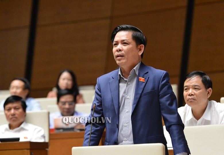 Bộ trưởng Bộ Giao thông Nguyễn Văn Thể hồi âm ý kiến đại biểu Quốc hội.