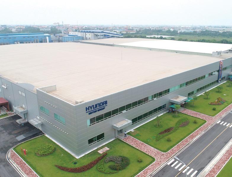 Công ty TNHH Hyundai Kefico Việt Nam tại Khu công nghiệp Đại An (Hải Dương), chuyên sản xuất linh kiện điện tử thông minh cho ô tô. Ảnh: Dũng Minh