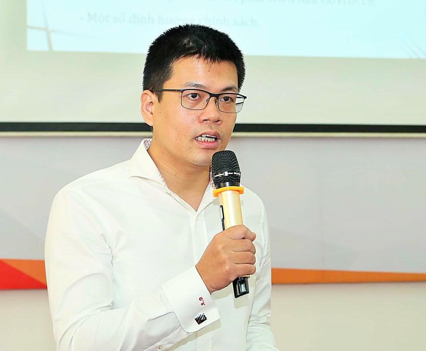 Ông Nguyễn Anh Dương, Trưởng ban Nghiên cứu tổng hợp (CIEM)