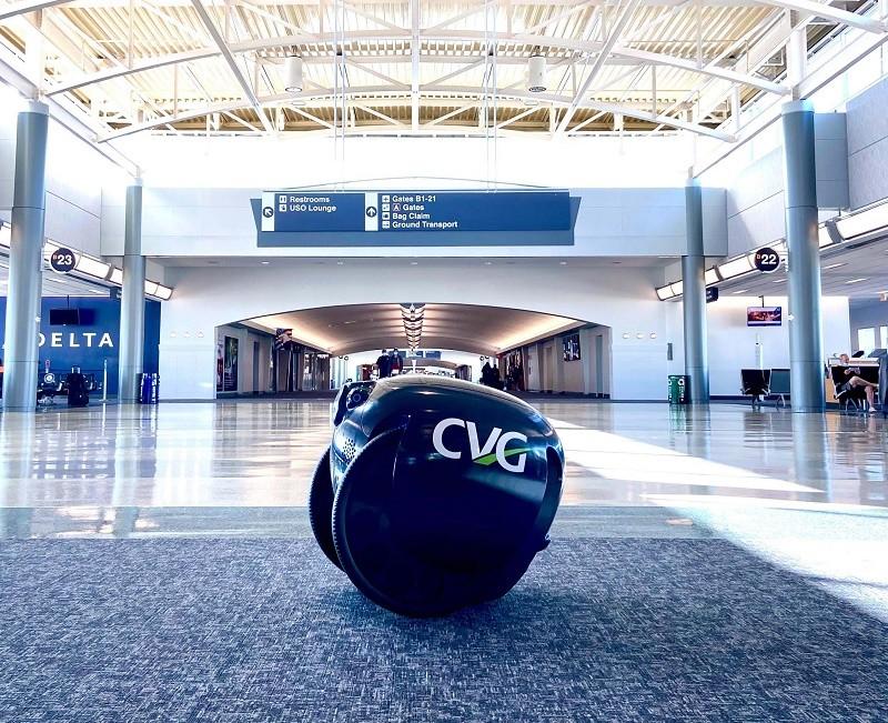 Gita tại sân bay CVG (Mỹ)