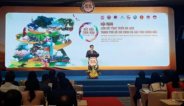 Phó Thủ tướng Vũ Đức Đam phát biểu chỉ đạo tạo Hội nghị. Ảnh: Thanh Tân