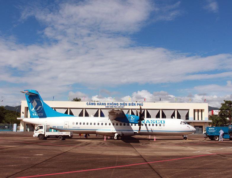 Với việc đầu tư nâng cấp, Cảng hàng không Điện Biên sẽ khai thác được thêm nhiều đường bay trực tiếp tới các đầu tàu kinh tế lớn của cả nước. Ảnh: A.M