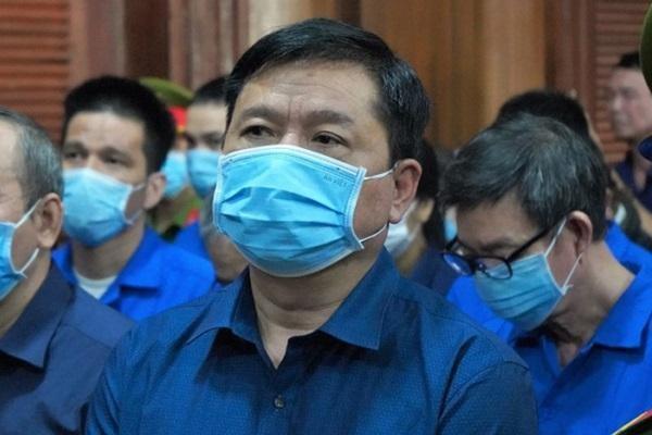 Bị cáo Đinh La Thăng nhận mọi trách nhiệm về mình nhưng cho rằng chỉ là sai phạm về hành chính