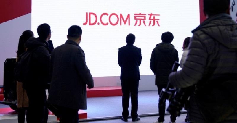 JD.com huy động gần 4 tỷ USD từ thương vụ niêm yết trên sàn chứng khoán Hong Kong hồi tháng 6/2020. Ảnh: Reuters