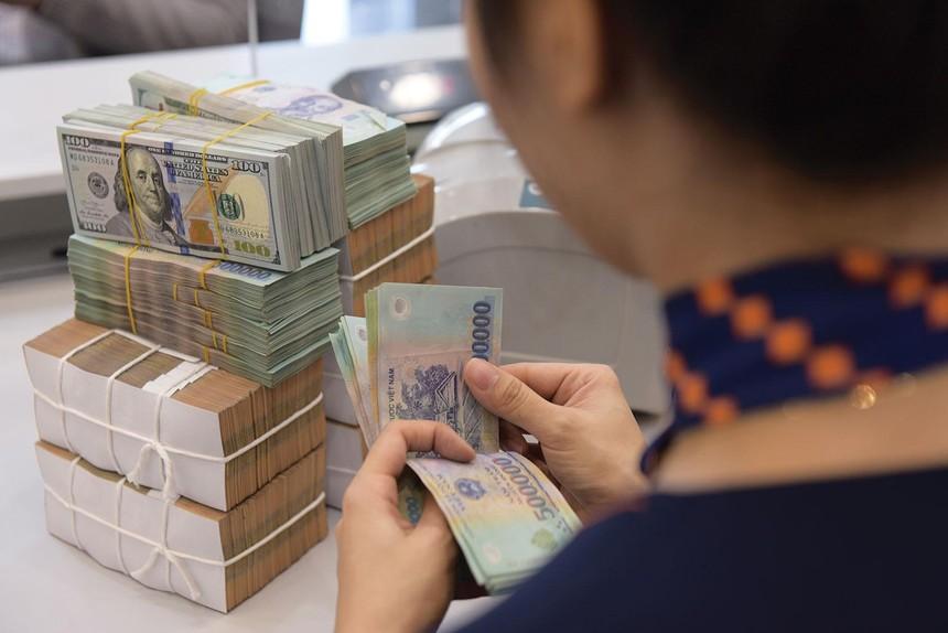 Nhiều ngân hàng đặt mục tiêu tăng trưởng lợi nhuận năm 2021 ở mức cao. Ảnh: Dũng Minh