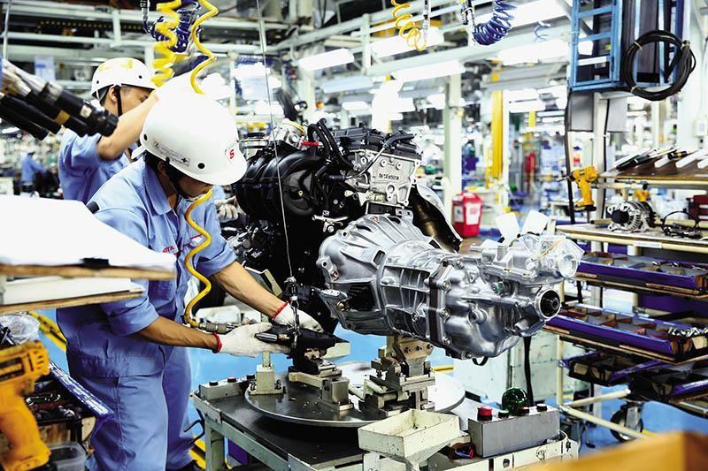 Thu hút đầu tư nước ngoài sẽ tiếp tục chịu ảnh hưởng tiêu cực trong năm nay. Trong ảnh: Nhà máy của Toyota tại Việt Nam