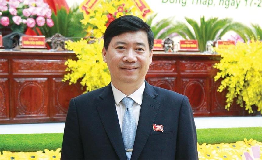 Ông Phạm Thiện Nghĩa, Phó bí thư Tỉnh ủy, Chủ tịch UBND tỉnh Đồng Tháp