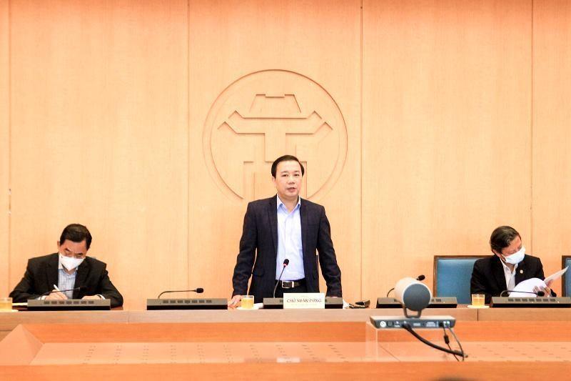 Phó Chủ tịch UBND TP Chử Xuân Dũng nhấn mạnh, những người không trung thực, gian lận trong kê khai y tế phải xử phạt hành chính theo quy định.