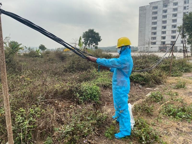 Xử lý sự cố điện khẩn cấp cũng phải tuân thủ các quy định phòng chống dịch