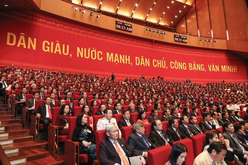 Đại hội đại biểu toàn quốc lần thứ XIII Đảng Cộng sản Việt Nam họp từ ngày 25/01/2021 đến ngày 01/02/2021.