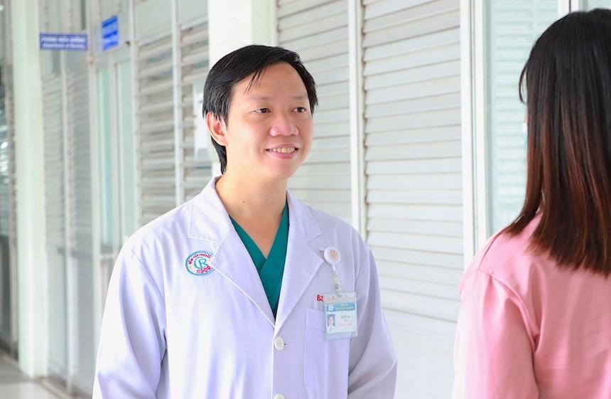 Bác sĩ Ngô Việt Anh, khoa Hồi sức cấp cứu, bệnh viện Chợ Rẫy (Ảnh: HP).