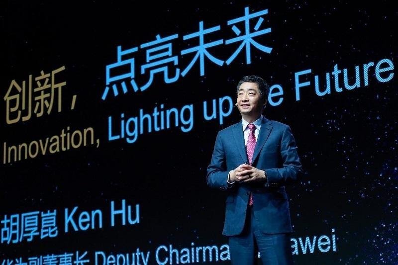 Phó chủ tịch Huawei Ken Hu chia sẻ tại MWC Shanghai 2021