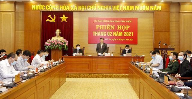 UBND tỉnh Vĩnh Phúc công bố quyết định điều động, bổ nhiệm hàng loạt cán bộ (Ảnh: Vinhphuc.gov.vn)