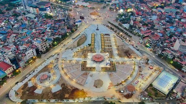 Công viên cây xanh Máy Tơ, quận Ngô Quyền, Hải Phòng. Ảnh: TA
