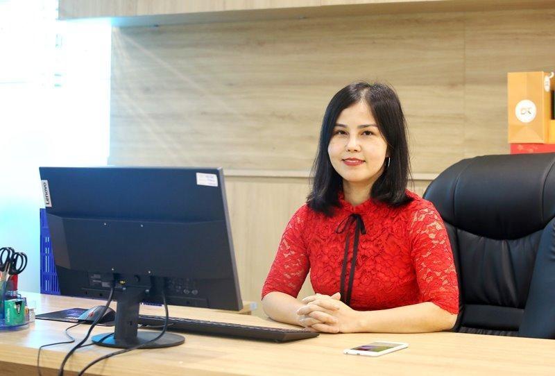 """Nữ doanh nhân Thái Thị Thanh Lan cho biết: """"Vì tôi là người khó tính, nên dù làm du lịch hay nông nghiệp, vẫn luôn khát khao chinh phục những thị trường khó tính nhất"""" (Ảnh: Hồ Hạ)."""