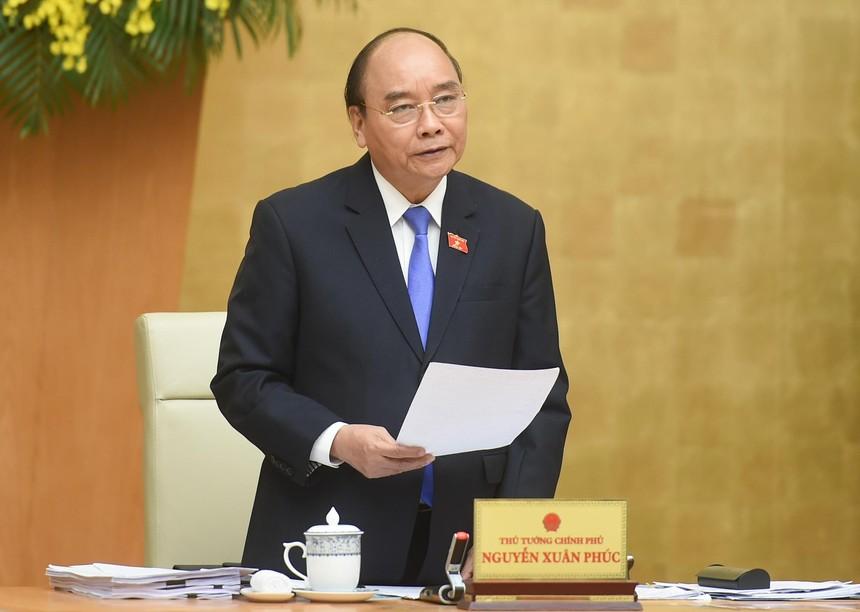 Thủ tướng Chính phủ Nguyễn Xuân Phúc (Ảnh: VGP)