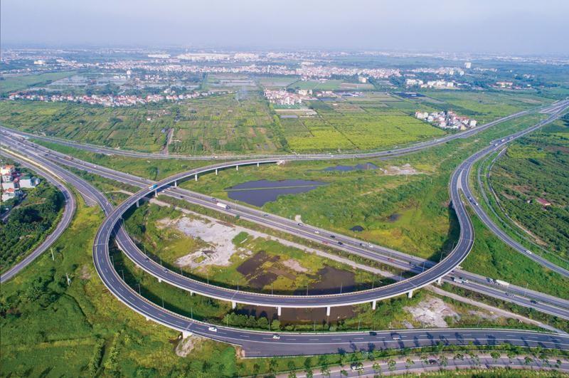 Dự án đường cao tốc Hà Nội - Hải Phòng. Ảnh: Internet