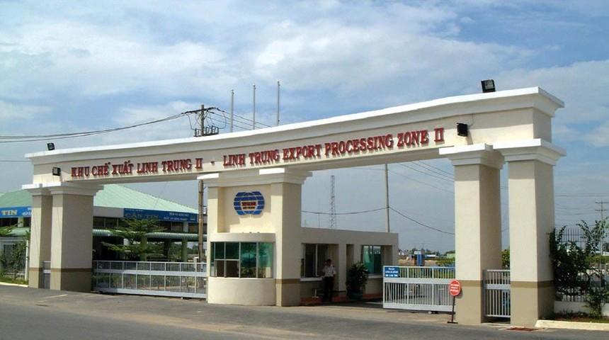 Khu chế xuất Linh Trung 2, nơi doanh nghiệp đang kêu vì bị từ chối tiếp nhận hồ sơ cấp giấy chứng nhận quyền sử dụng đất và tài sản trên đất.