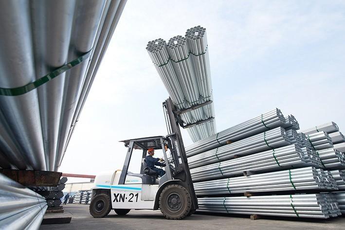 3 tháng đầu năm 2021, xuất khẩu sắt thép tăng trưởng ấn tượng 65,2% so với cùng kỳ, đạt 1,826 tỷ USD.