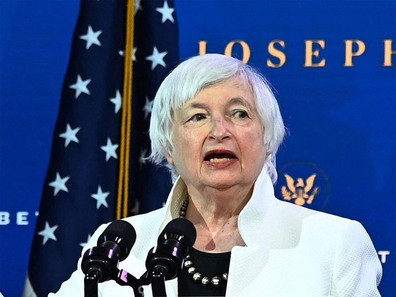 Bộ trưởng Tài chính Mỹ Janet Yellen. Ảnh: AFP