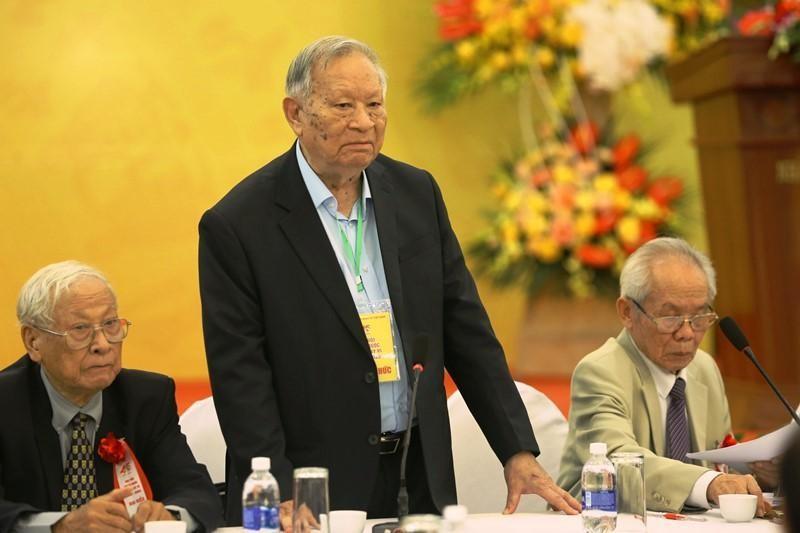 GS-TSKH Nguyễn Quang Thái, tân Chủ tịch Hội Khoa học Kinh tế Việt Nam nhiệm kỳ VI (2021-2026)