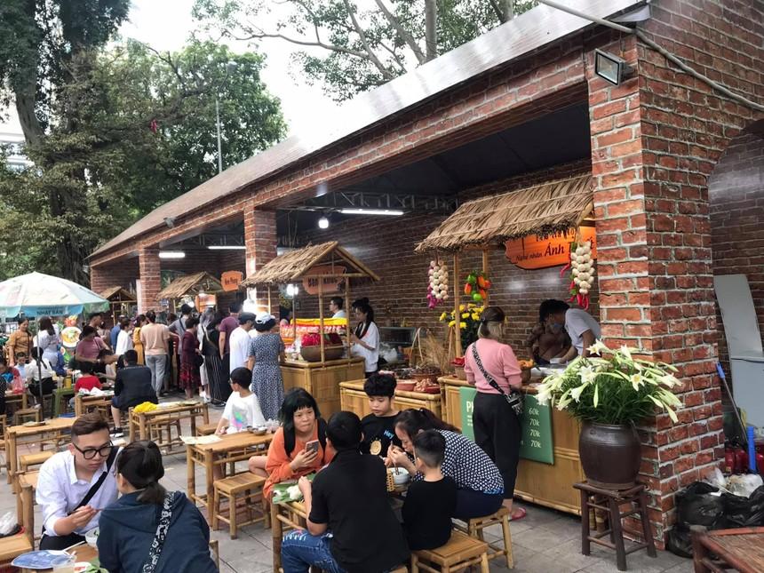Lễ hội Du lịch và văn hóa ẩm thực Hà Nội đón Khoảng 60.000 lượt du khách