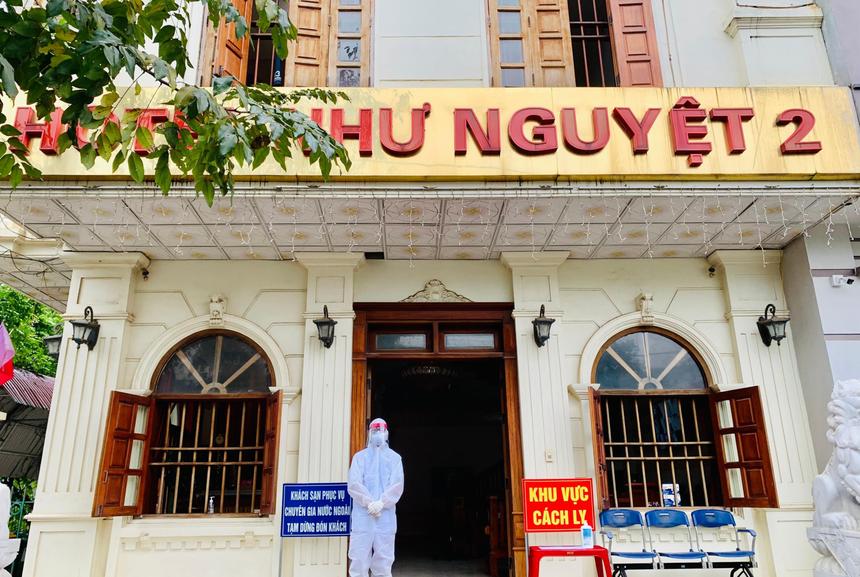 Khách sạn Như Nguyệt 2- nơi phát hiện 5 ca mắc Covid-19 biến thể mới tại Ấn Độ.