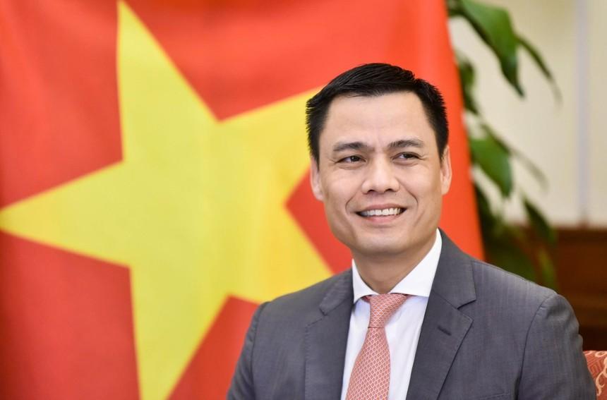 Thứ trưởng Bộ Ngoại giao Đặng Hoàng Giang