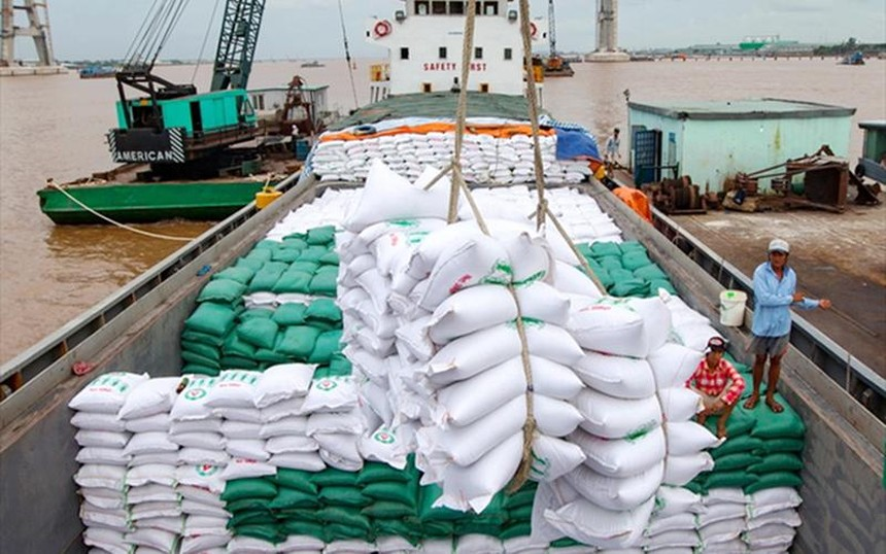 Giá gạo xuất khẩu 4 tháng đầu năm 2021 tiếp tục được cải thiện, đạt 534 triệu USD/tấn.