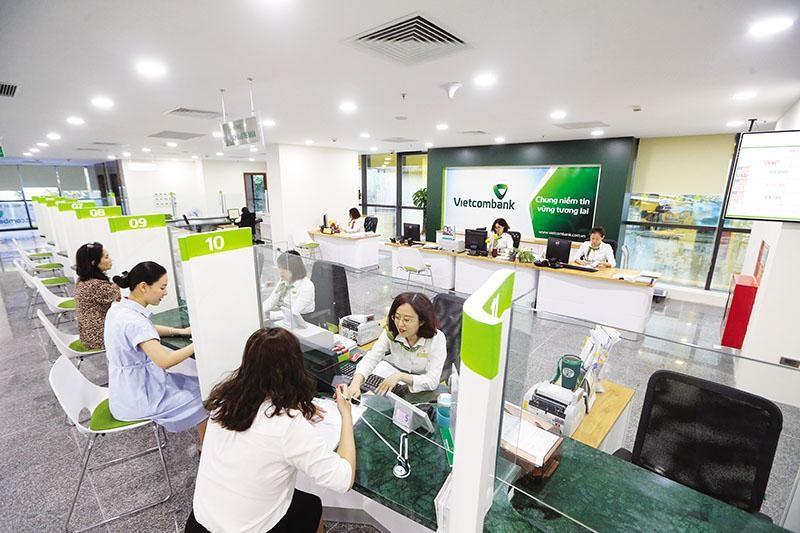 Vietcombank giữ vị trí quán quân lợi nhuận quý I/2021, với lợi nhuận trước thuế vượt 8.600 tỷ đồng. Ảnh: Đức Thanh