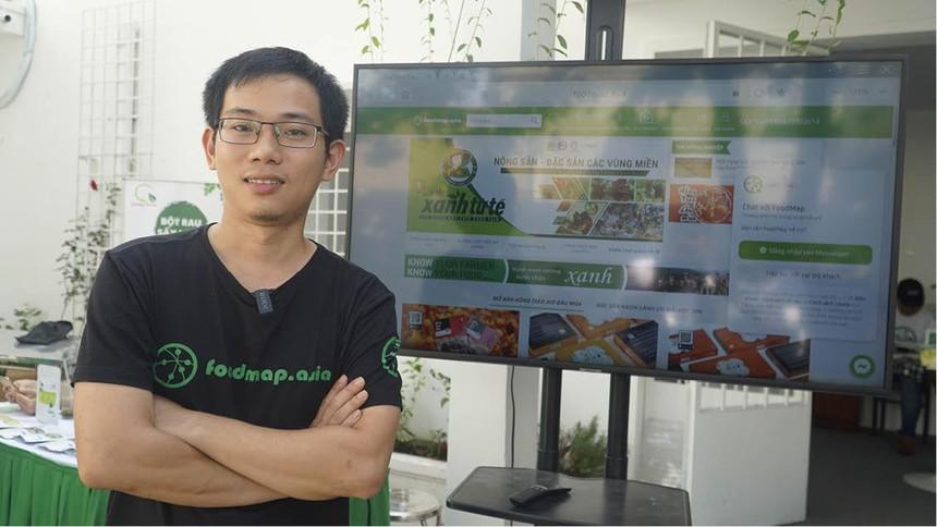 Phạm Ngọc Anh Tùng, nhà sáng lập Foodmap