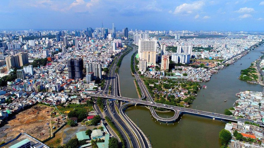 Đại lộ Võ Văn Kiệt kết nối các quận của trung tâm TP.HCM (Ảnh minh hoạ: Lê Toàn).