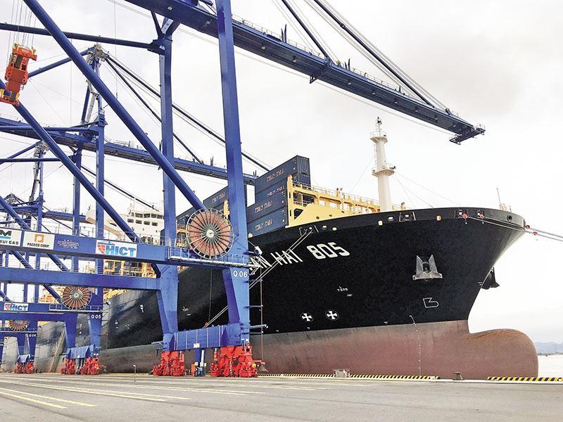 Nhiều doanh nghiệp ngoại đang đổ vốn vào thị trường logistics Việt Nam. Ảnh: Thanh Tân