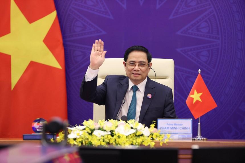Thủ tướng Phạm Minh Chính tham dự Hội nghị (Ảnh: BNG)