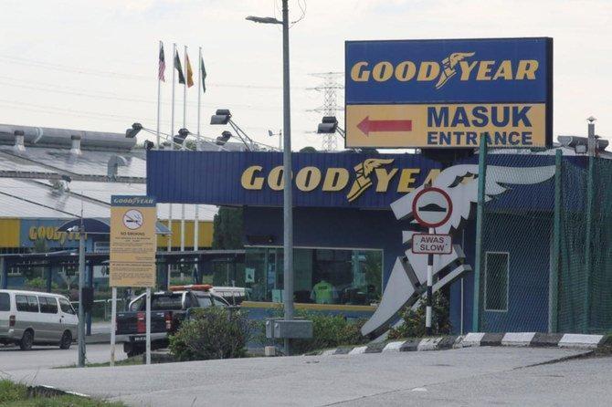 Một góc nhà máy Goodyear tại thành phố Shah Alam, Malaysia vào ngày 6/5/2021. Ảnh: Reuters