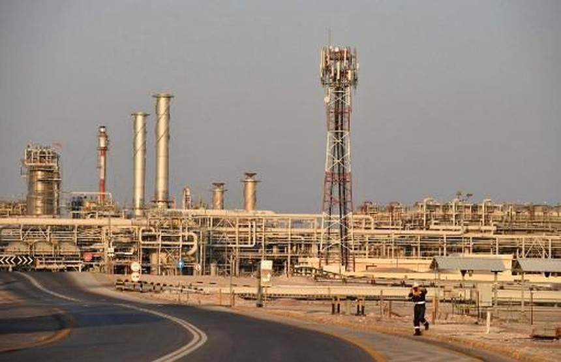 Nhà máy lọc dầu Abqaiq của Tập đoàn Saudi Aramco. Ảnh: AFP