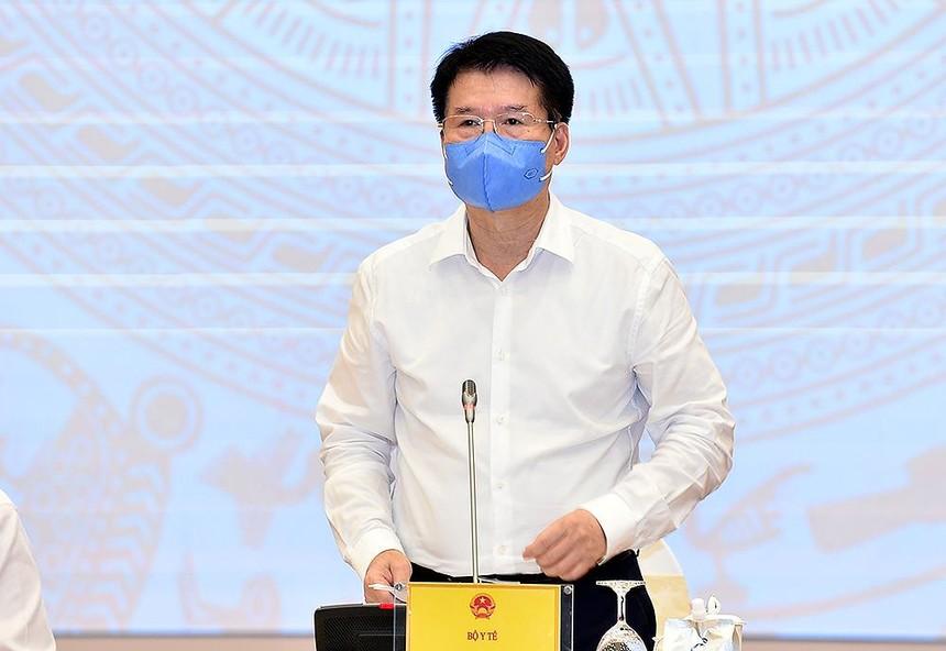 Thứ trưởng Bộ Y tế Trương Quốc Cường cho biết, Việt Nam đã đặt mua 170 triệu liều vaccine Covid-19 (Ảnh: Nhật Bắc)