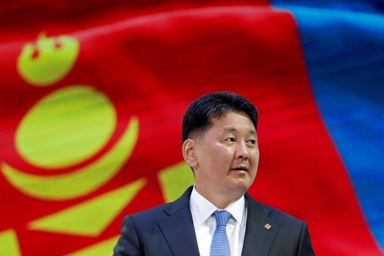 Cựu Thủ tướng Mông Cổ Ukhnaa Khurelsukh đã đắc cử tổng thống. Ảnh: Reuters