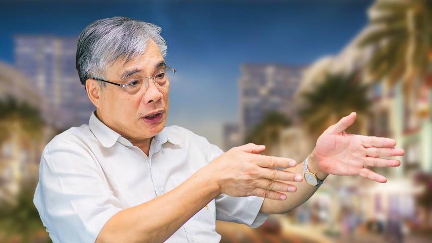 PGS - TS. Trần Đình Thiên, nguyên Viện trưởng Viện Kinh tế Việt Nam, Thành viên Tổ Tư vấn kinh tế của Thủ tướng.